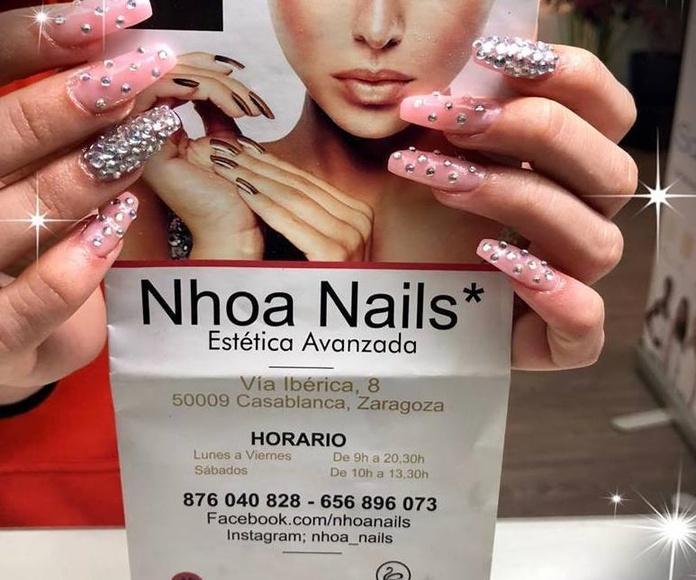 Construcción con molde en gel: Products de Nhoa Nails*