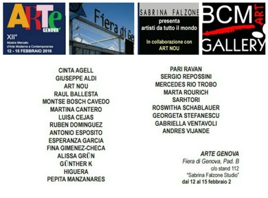 BCM ART GALLERY en ARTEGENOVA, Italia