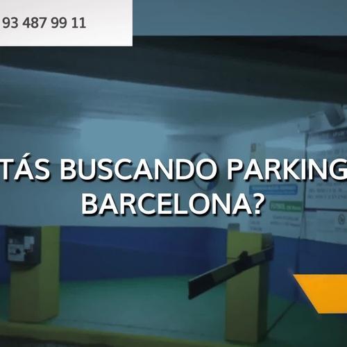 Parking público en Eixample Barcelona