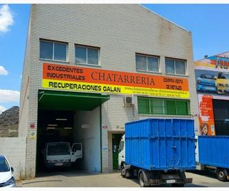 Compra de excedentes industriales  : Servicios   de Recuperaciones Galán