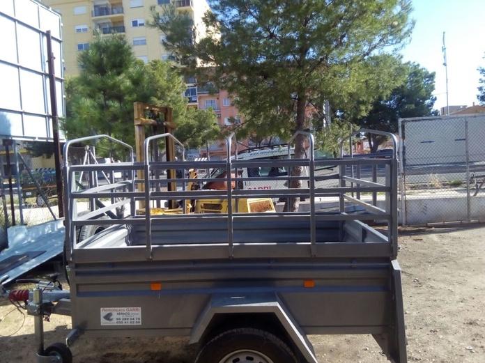 Remolque Abierto Con toldo 010: Remolques de Remolques Garri