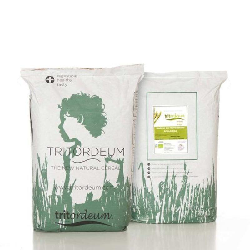 Harina de tritordeum ecológica blanca 25 kg: Productos de Coperblanc Zamorana