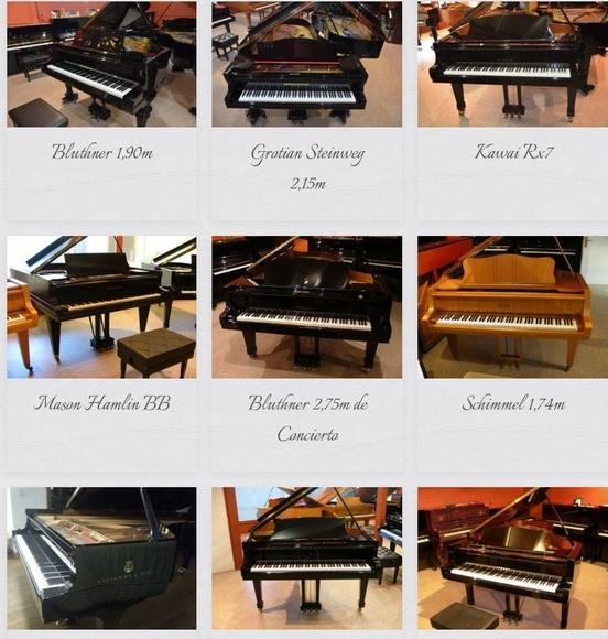 Marcas de piano: Servicios de La Galería del Piano