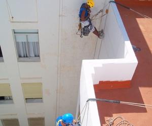 Trabajos mediante técnica vertical