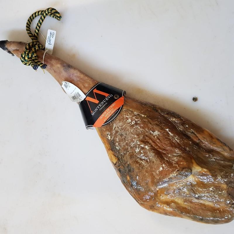 Jamón de cebo ibérico 50 % raza ibérica