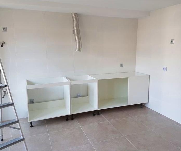 Instaladores de cocinas a medida