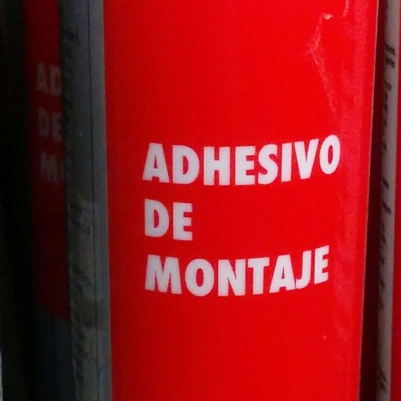 Adhesivo de montaje: Productos y Servicios de Miguel Angel Peña - Eparquet
