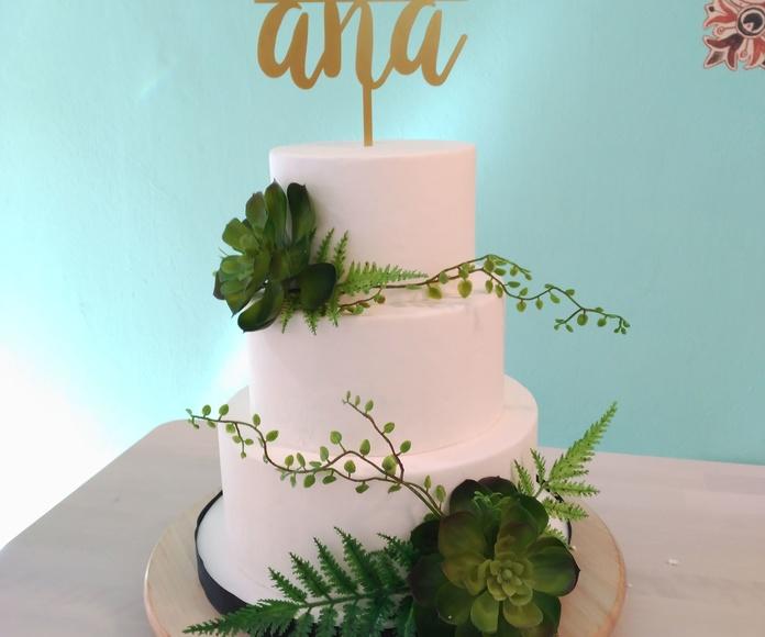 Tarta de boda, Fraga, Huesca