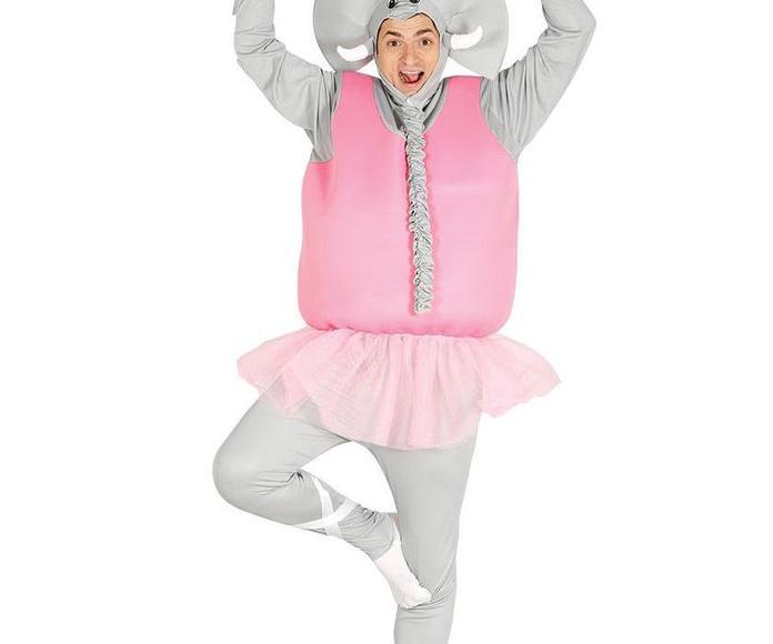 Disfraz elefanta bailarina