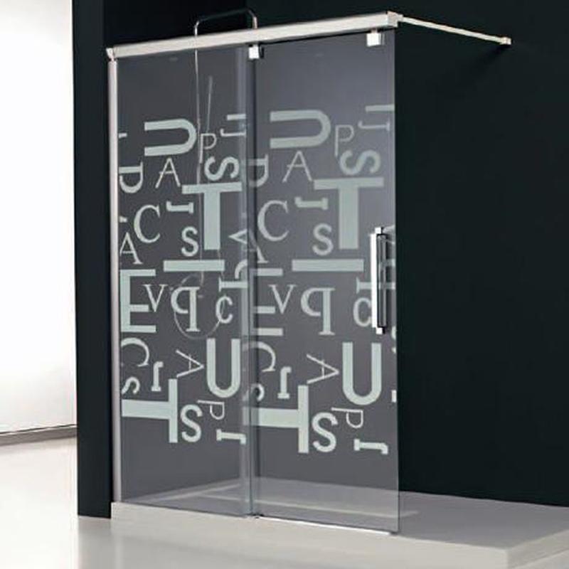 Mamparas de baño Gijón: Productos de Aluminios Martinez