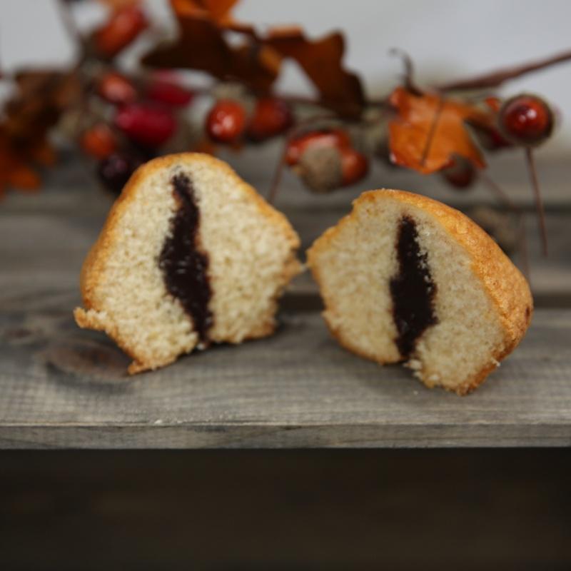 Magdalenas rellenas de chocolate: Productos de La Tatarabuela Magdalena