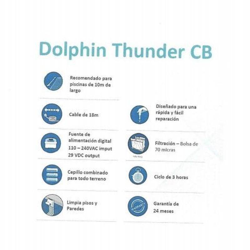 Dolphin Thunder CB: Productos y servicios de Piscinas Castilla - Construcción y Rehabilitación