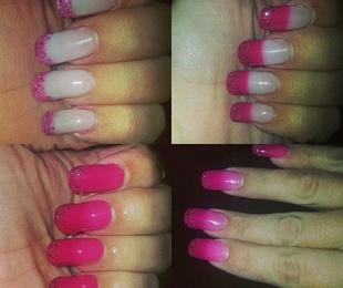 Decoración de uñas con gel térmico