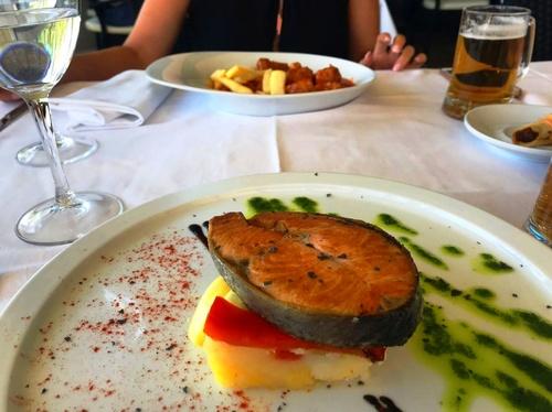 Trucha a la Navarra