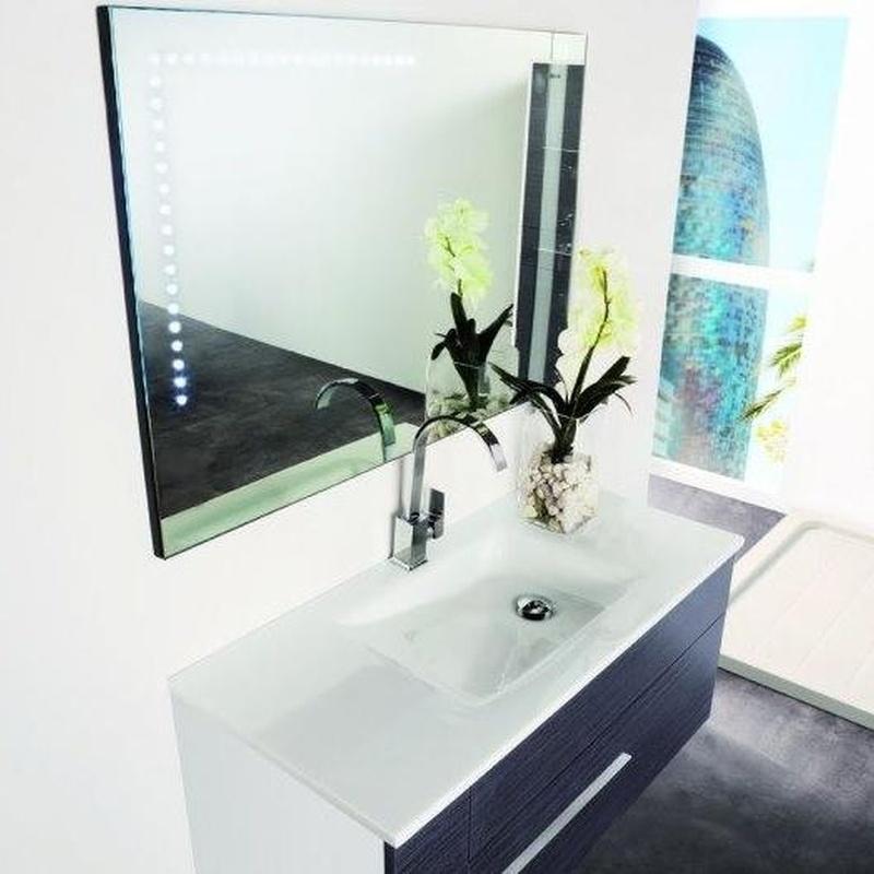 Mueble de baño Vidrebany colección Elle modelo Up