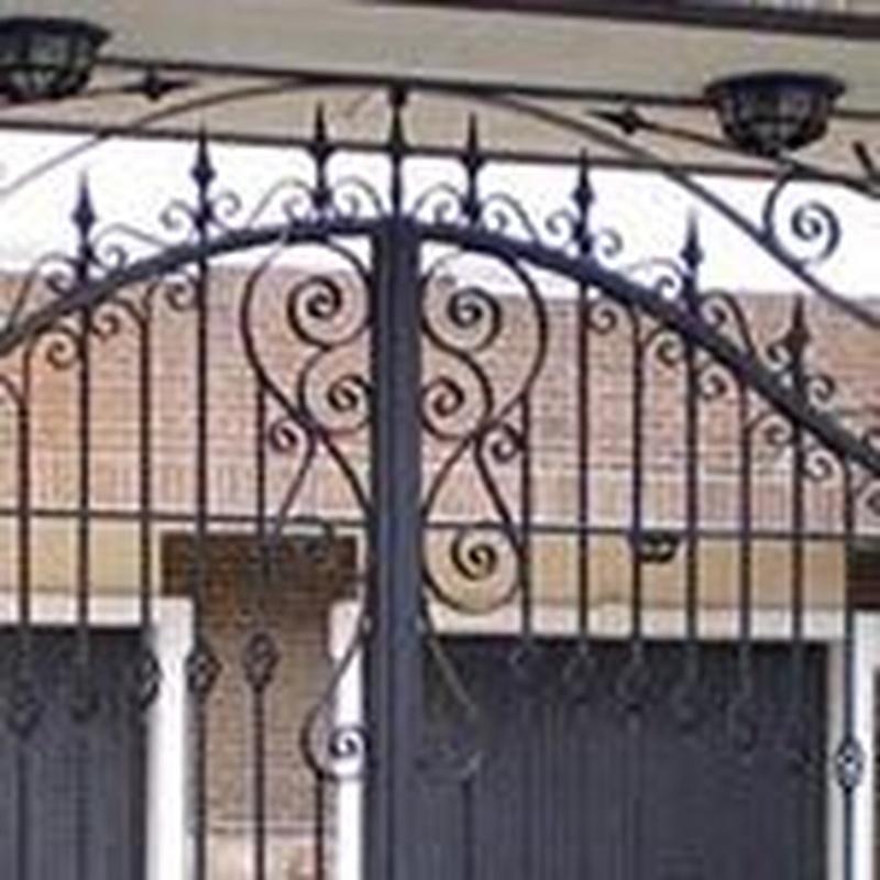 Puertas de entrada a parcelas : Trabajos de Cerrajería Alberto Bautista