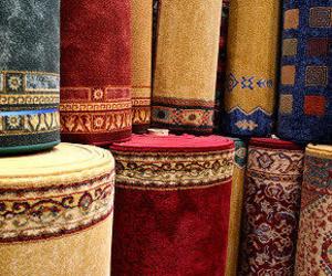 Gran variedad de alfombras