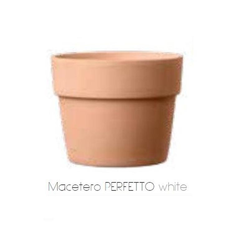 Macetero Perfetto White: Servicios  de Alfarería Garmendia