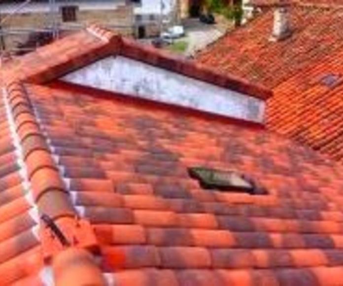 Empresa de rehabilitación de cubiertas y tejados en Cantabria.