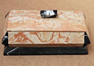 Caja Art-Deco de marmol