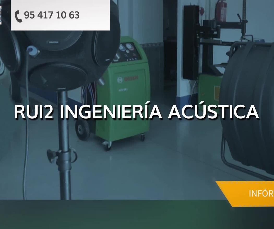 Mediciones acústicas en Sevilla