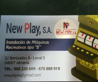 Reparación y cambio: Productos y servicios de New Play, S.A.