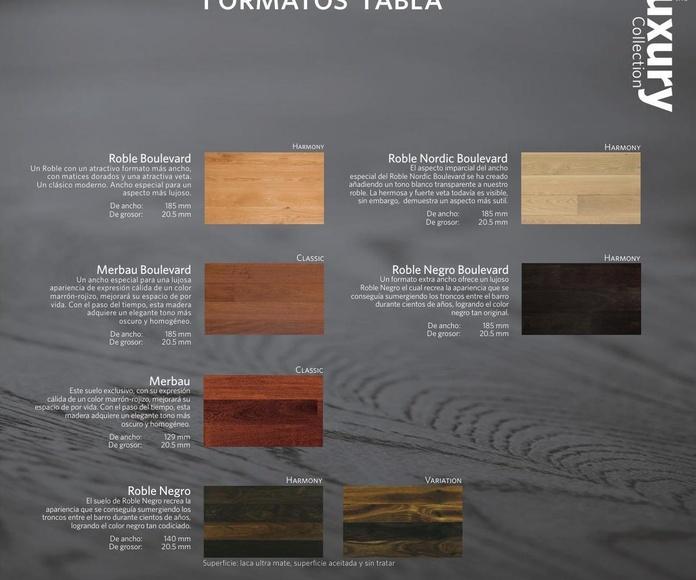 Formato Tabla Luxury