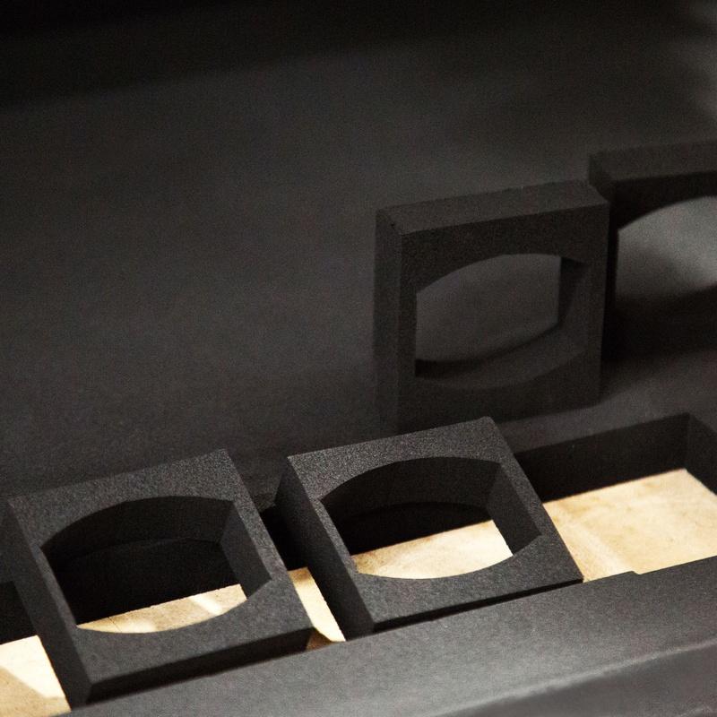 Fresado de porex espuma cartón: Servicios y productos de Troquels Geser
