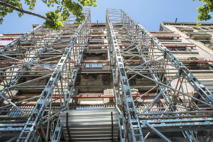 Rehabilitaciones de fachadas de edificios: Servicios de Sintrahogar Construcciones y Reformas