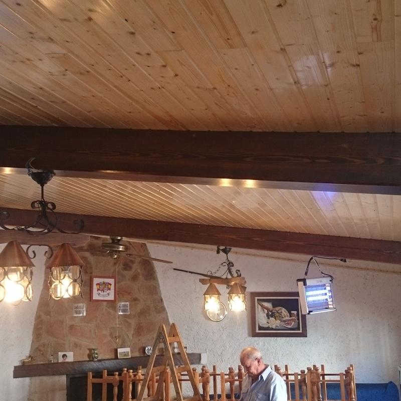 Forrado techo bodega Monreal