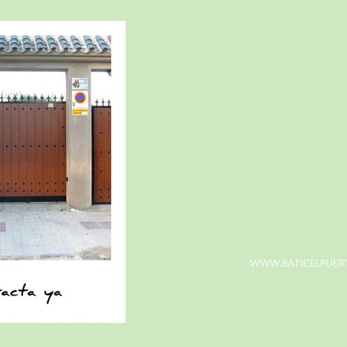 Instalación de puertas automáticas en Málaga: Baticel