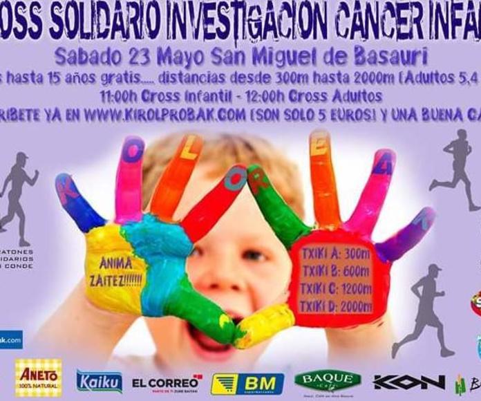 I Cross Solidario investigación cáncer infantil - 23/Mayo/2015