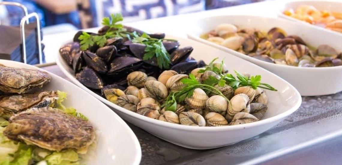 Restaurante con menú diario en Sants, Barcelona, con excelentes pescados y mariscos fresco