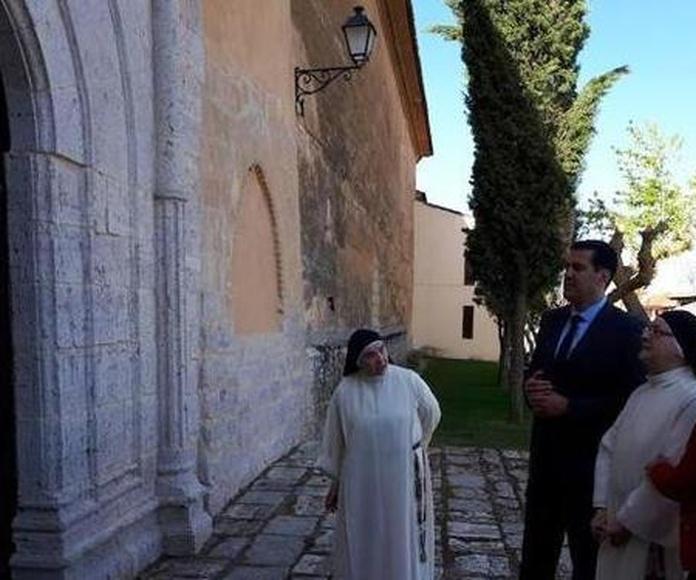 Inaguración de la Restauración de la Portada del Sancti Spiritus en Toro