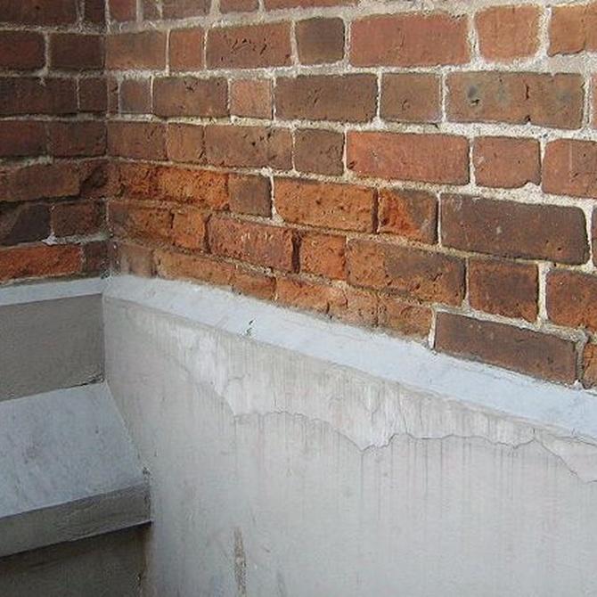 Clasificación de las humedades que pueden aparecer en una vivienda