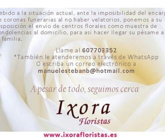 Canastillas de nacimiento: Servicios  de Ixora Floristas