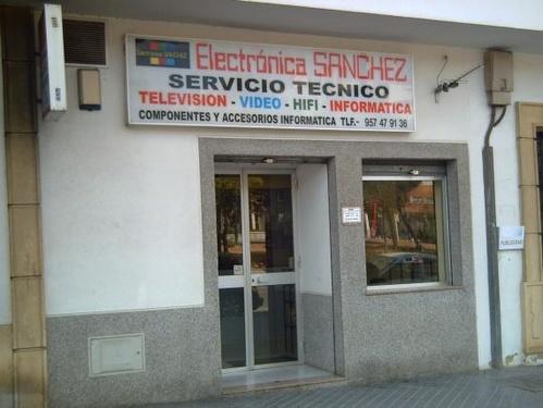Televisión, Vídeo y Sonido (reparación) en Córdoba | Electrónica Sánchez