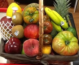 Cestas de frutas y verduras