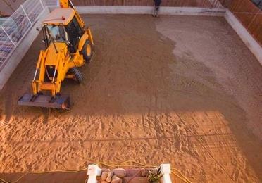 Movimientos de tierra y limpieza de parcelas