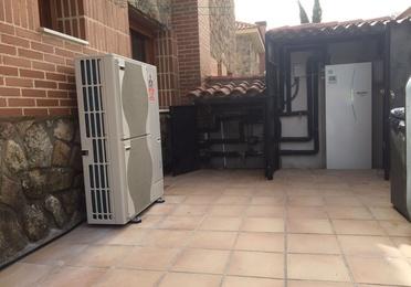 Aerotermia+radiadores