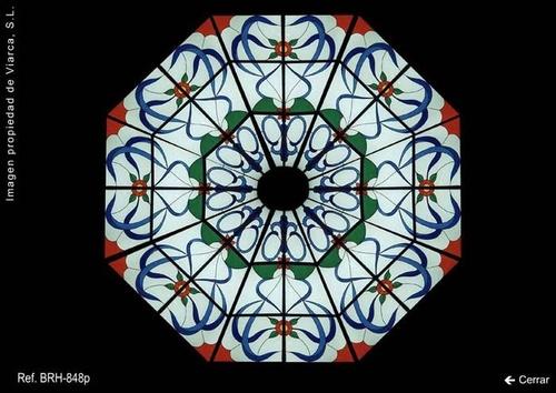 Vidriera para cúpula