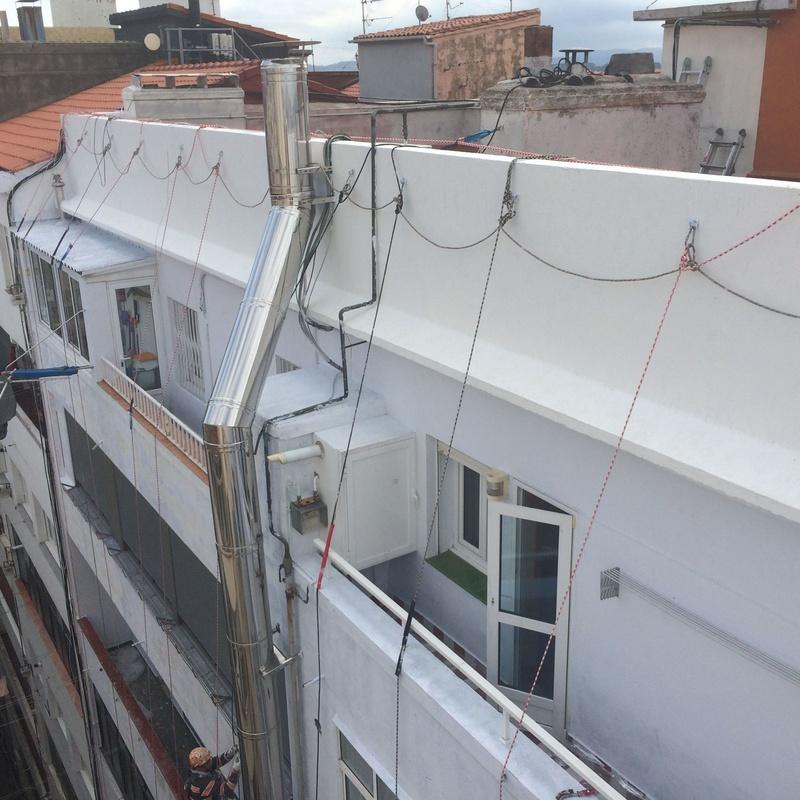 Tratanientos integrales de fachadas Santander-Torrelavega.