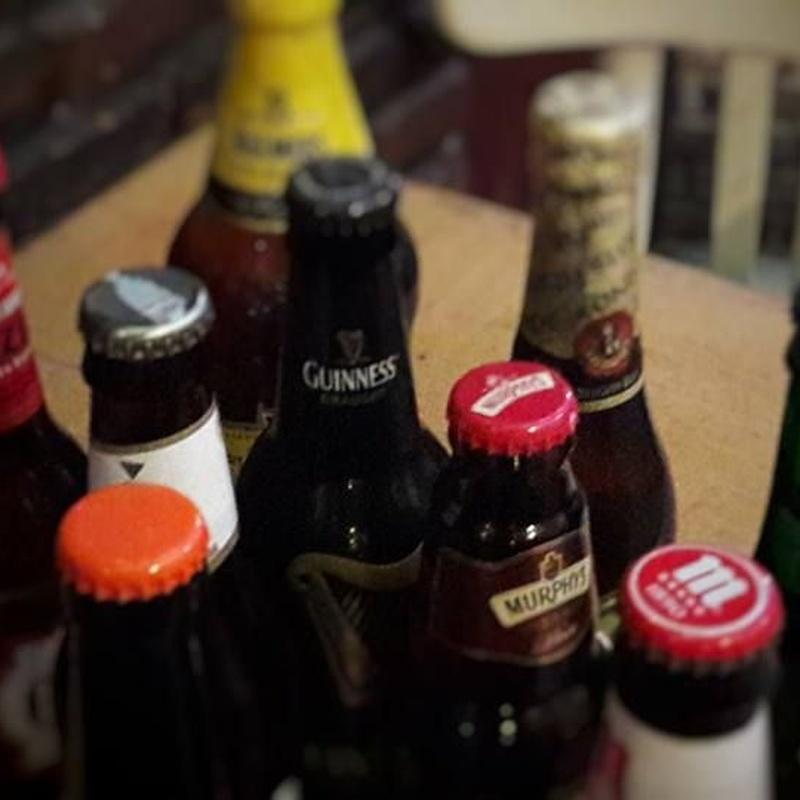 Cervezas: Carta de Calle de Bruselas
