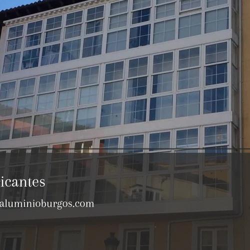 Carpintería de aluminio en Burgos