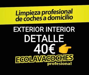 http://kit-ecolavacoches.es Ext. Int. Detalle 40€ Dirección Día Hora