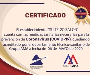 Protocolo de seguridad en Suite 20 Salón