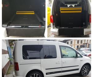Volkswagen Caddy adaptada para minusválidos