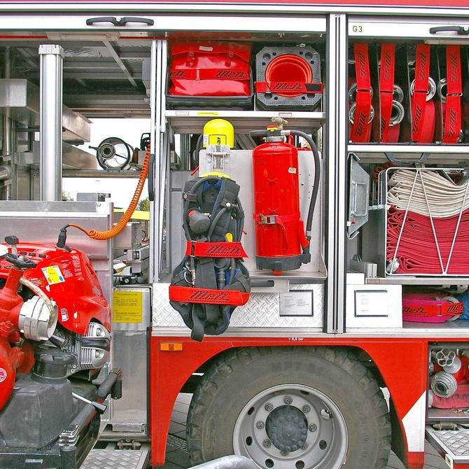 Diferentes agentes extintores para cada tipo de fuego