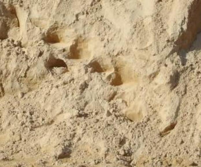 arena de mortero