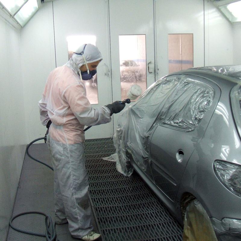 Chapa y pintura: Servicios de Auto Plancha Piera